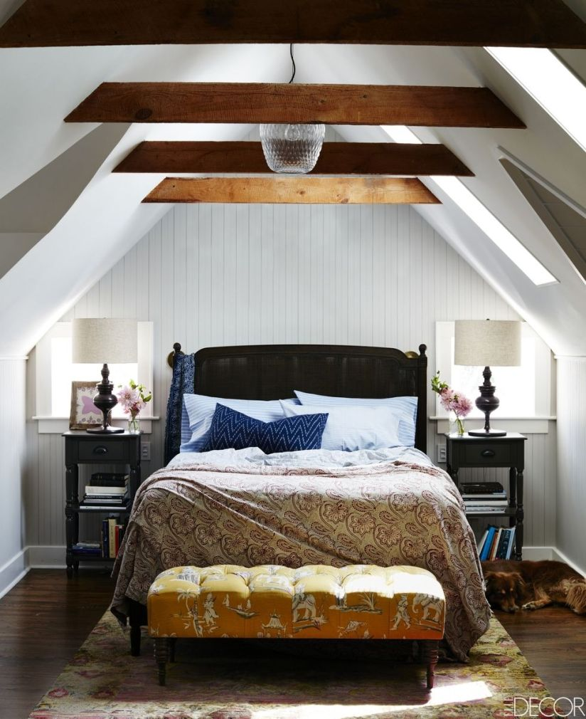 charming attic bedroom