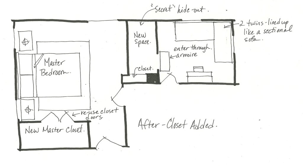 After bedroom floor plan