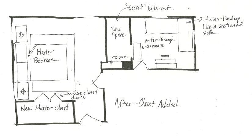 After bedroom floor plan