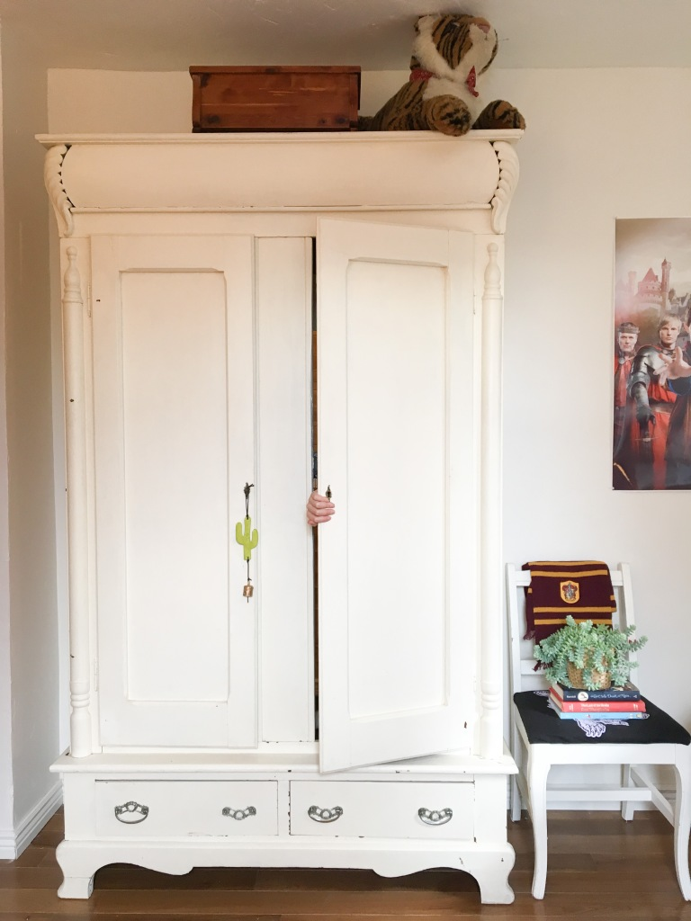 wardrobe entrance for children