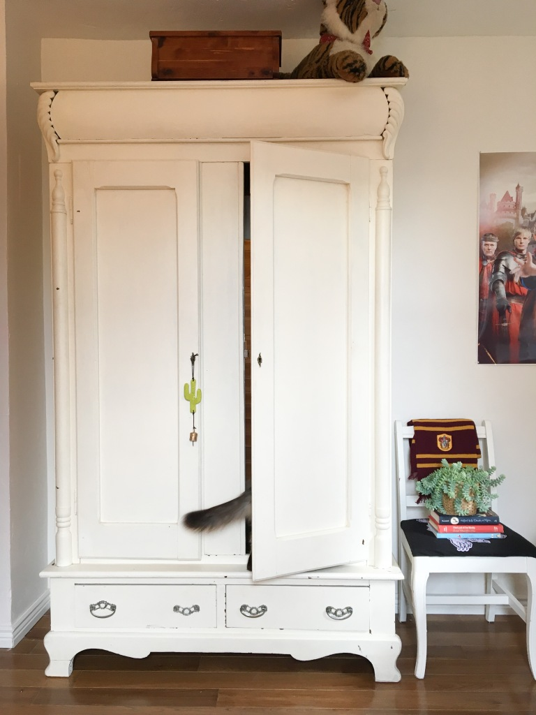 armoire with hidden room behind