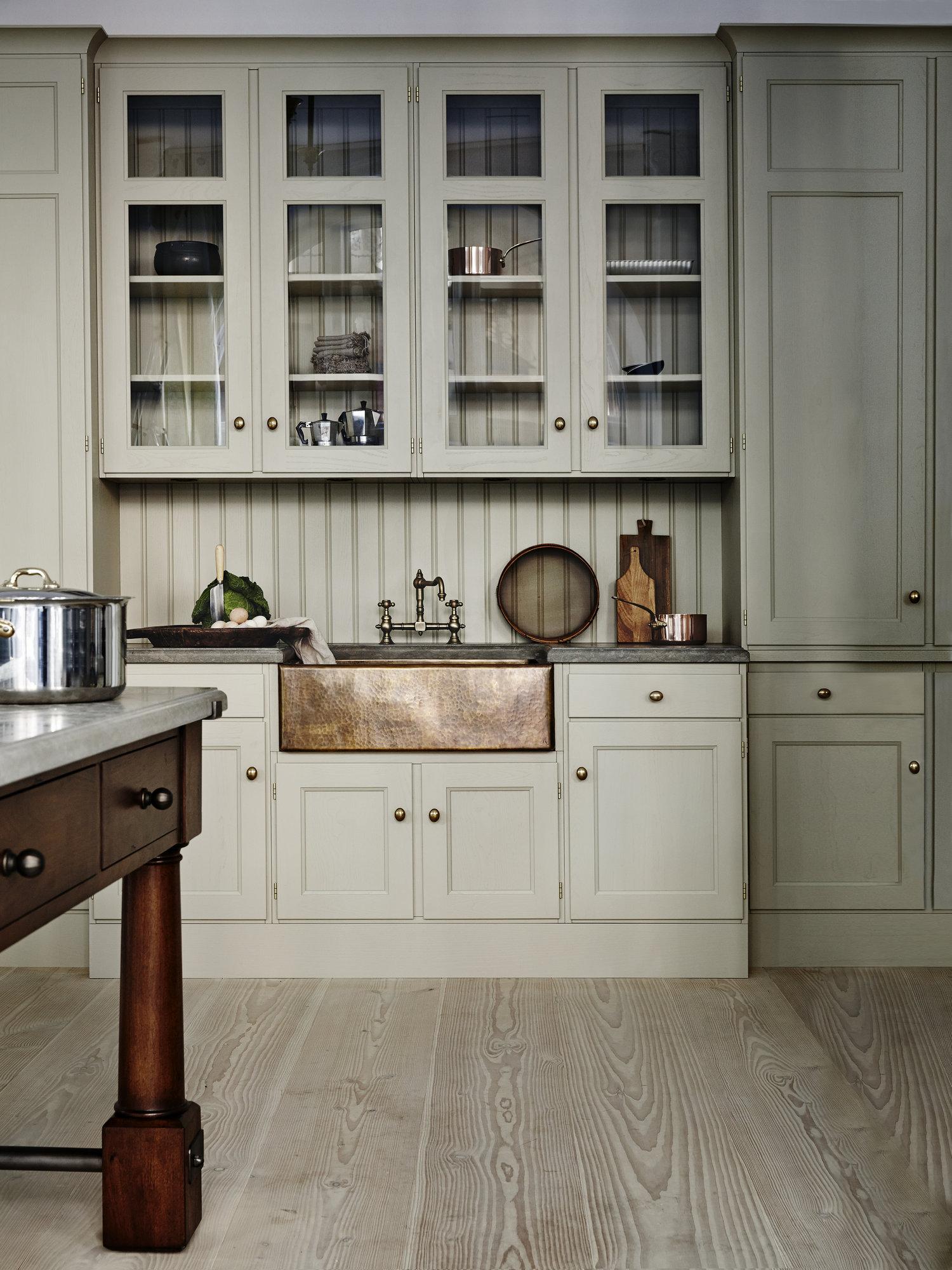 Warm Gray Kitchen