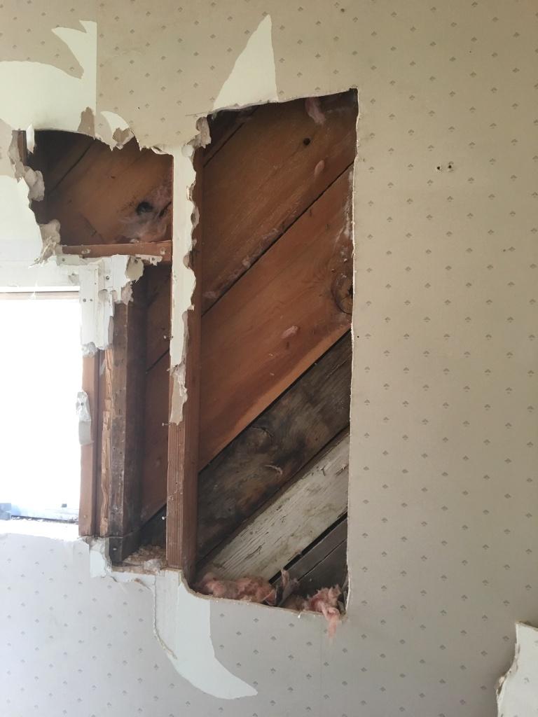 boards under drywall
