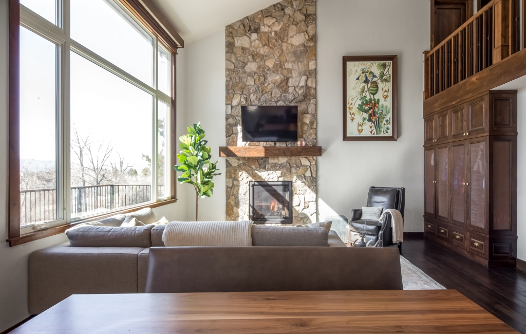 stone fireplace denver