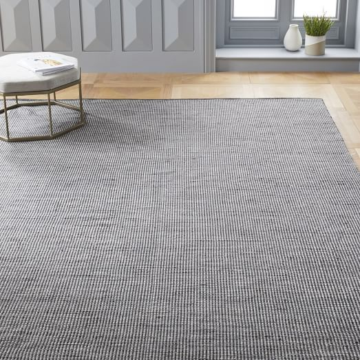 outdoor gray rug