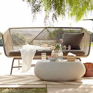 small space outdoor sofa