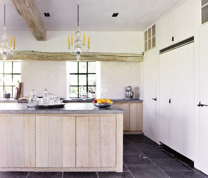 bluestone floor kitchen