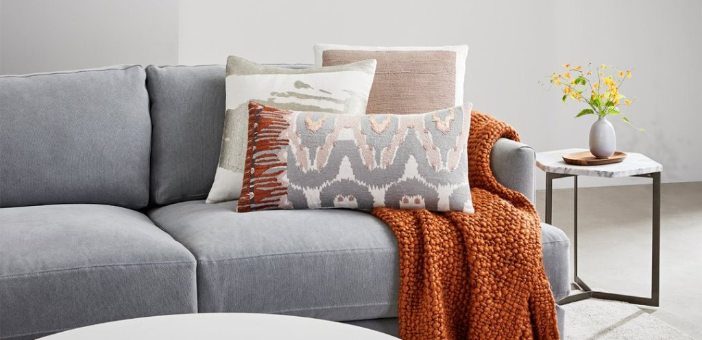 fall pillow colors