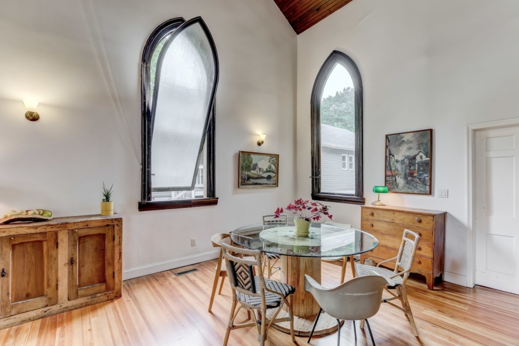 church retrofit dining room