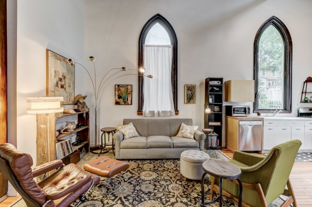 church retrofit living room