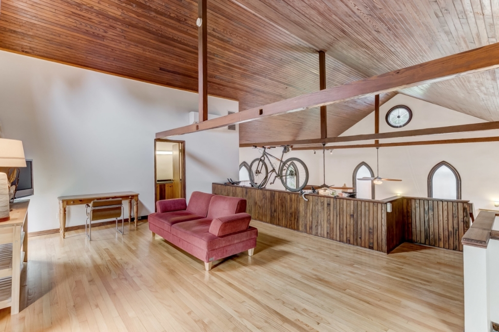 retrofit church loft area