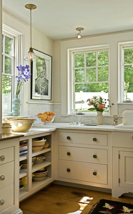 country cosy kitchen