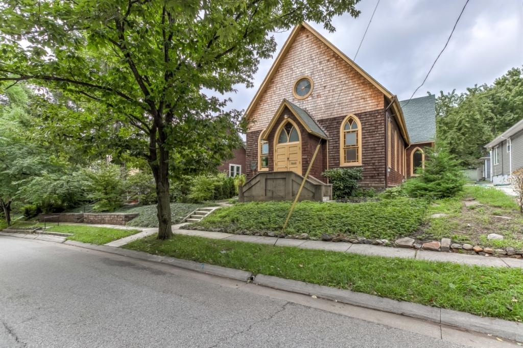 exterior church residence