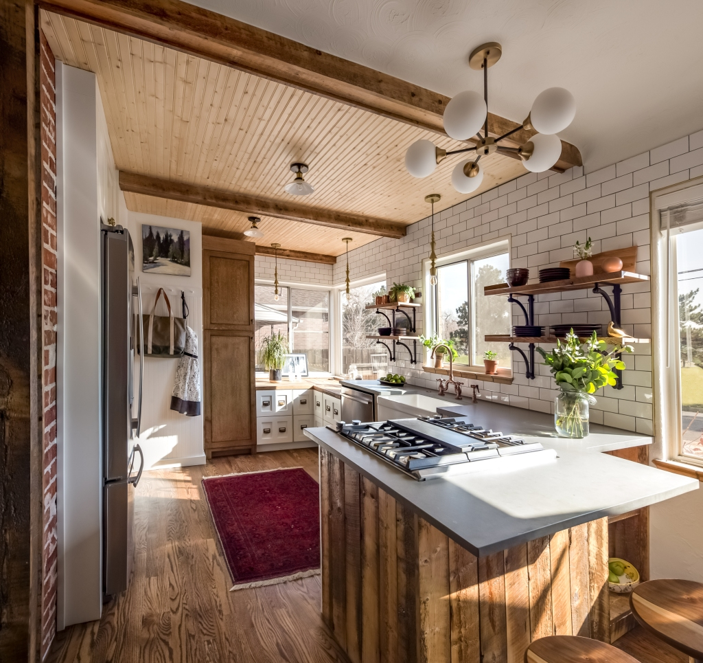 vintage style kitchen denver