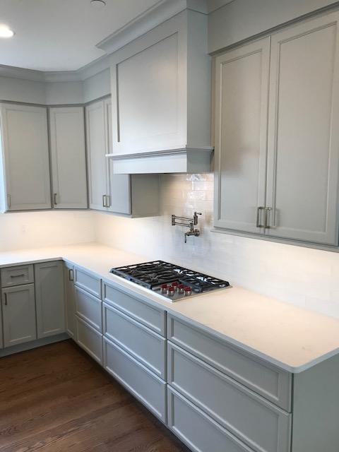 Site visit gray kitchen