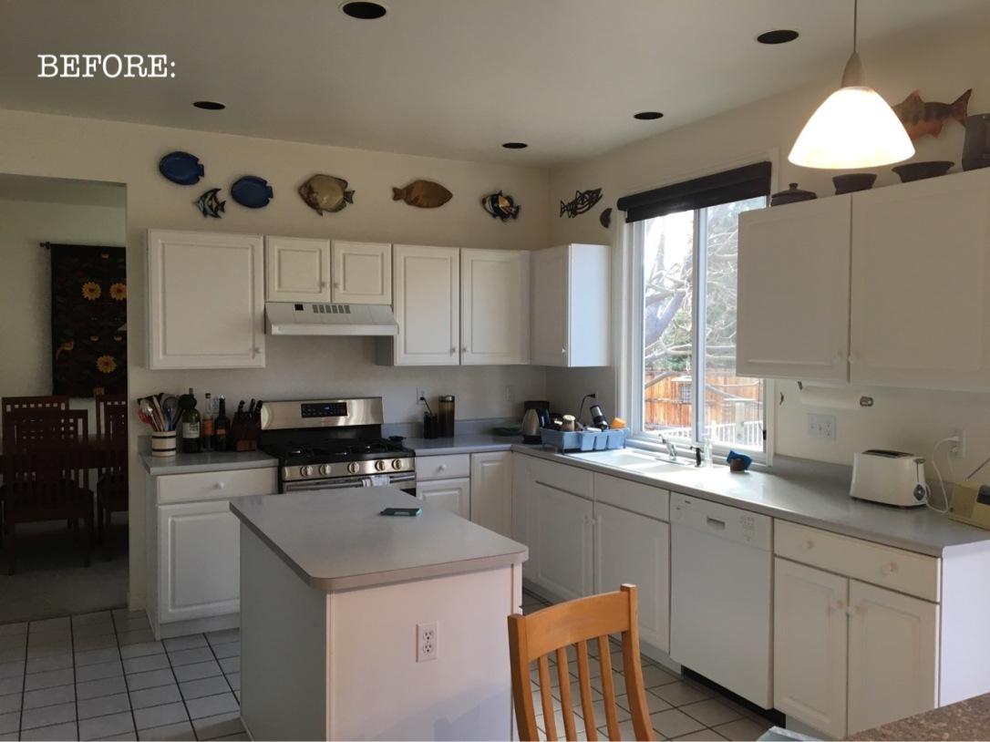 before white kitchen