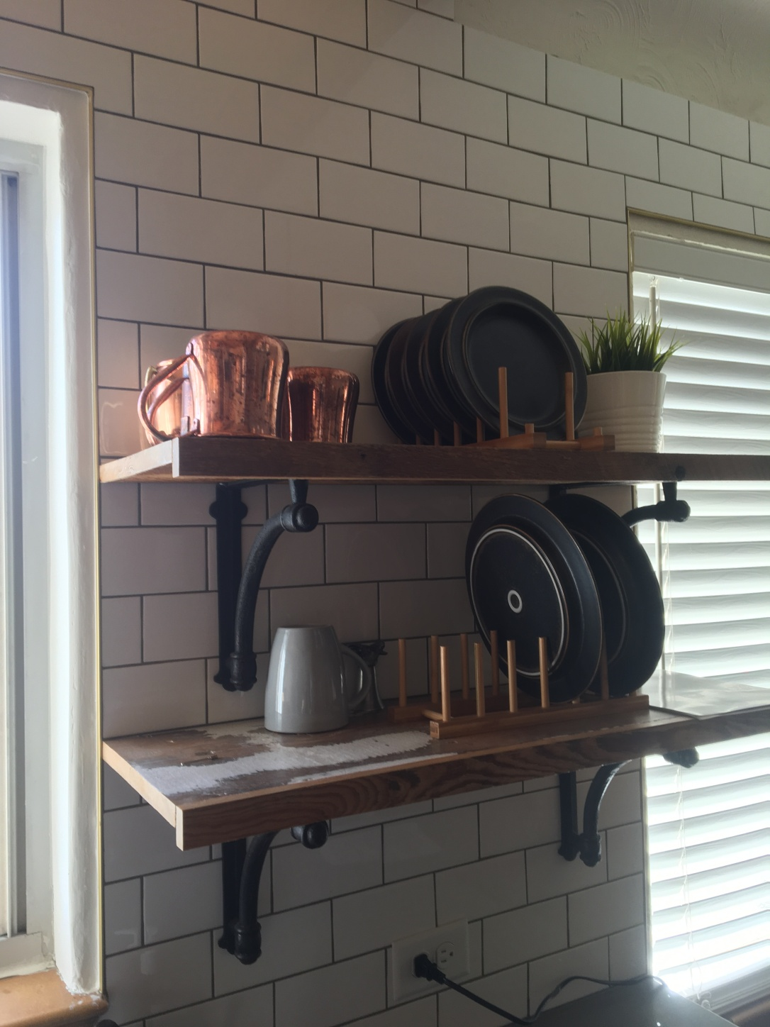 open shelves hgtv house