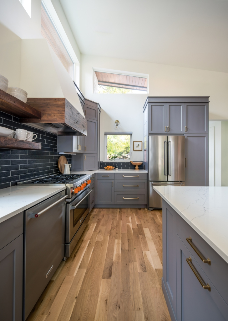 renovated ranch kitchen