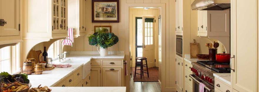 warm yellow kitchen cabinets – The Colorado Nest
