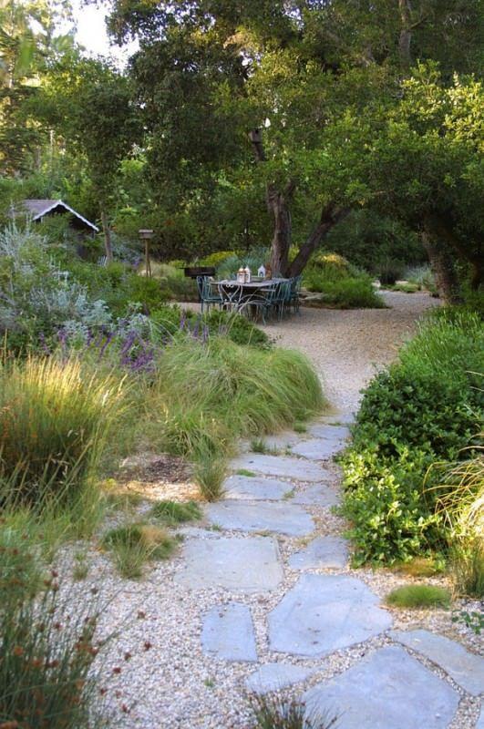 gravel path garden