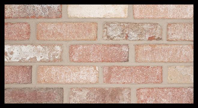 thin set brick