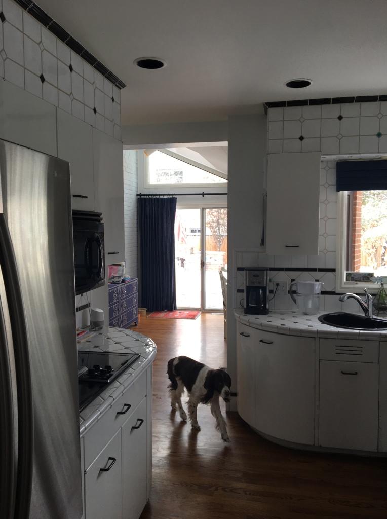 before galley kitchen