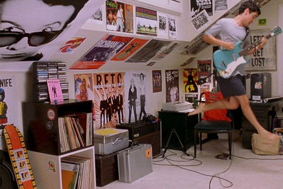 teen bedrooms on film