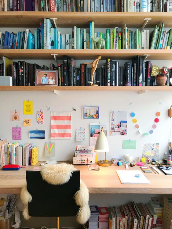 joyful work space
