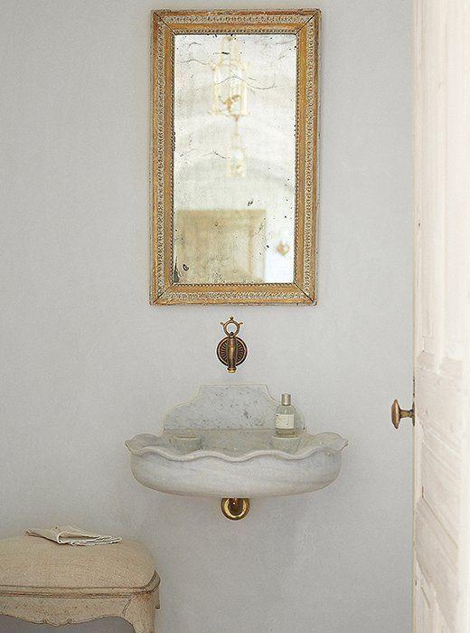 vintage marble sink